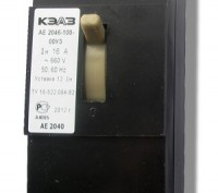 Автоматические выключатели АЕ 2046, А 3716, ВА 5239.. Киев. фото 1