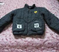 Куртка теплая на мальчика 9-10лет рост 145-150см  на синтапоне не сбитый  Капю. Запорожье, Запорожская область. фото 2