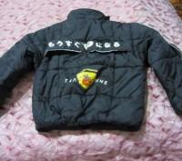 Куртка теплая на мальчика 9-10лет рост 145-150см  на синтапоне не сбитый  Капю. Запорожье, Запорожская область. фото 3