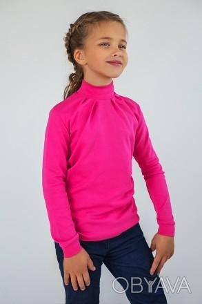 Детский гольф для девочки молочный, розовый, малиновый, белый. Красивый и наряд. Днепр, Днепропетровская область. фото 1