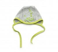 Шапочка чепчик для новорожденного серый меланж+голубой, серый меланж+зеленый, се. Днепр, Днепропетровская область. фото 4
