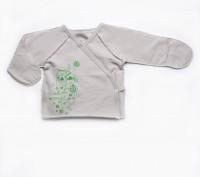 Утепленная распашонка для новорожденных футер. Днепр. фото 1