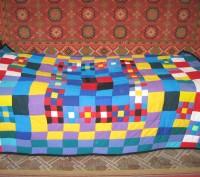 Продам лоскутное покрывало- одеяло (пэчворк) эксклюзив. Харьков. фото 1