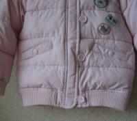 Нежно розовая курточка в отличном состоянии. Дырок, потертостей, пятен - нет. На. Кривой Рог, Днепропетровская область. фото 7