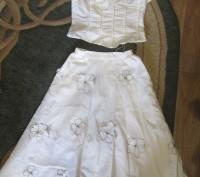 Нарядный костюм(юбка,топ)в отличном состоянии,без дефектов. Конотоп, Сумська область. фото 2