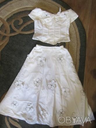 Нарядный костюм(юбка,топ)в отличном состоянии,без дефектов. Конотоп, Сумська область. фото 1