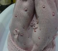 Предлагаю красивые тёплые шапки производство Польша Barbaras Состав 50-шерсть п. Запорожье, Запорожская область. фото 5