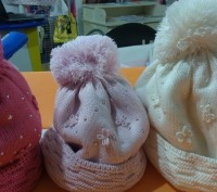 шапки зима шерсть обьем 50-52,52-54 польша barbaras. Запорожье. фото 1