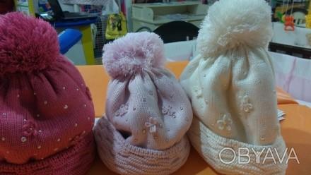 Предлагаю красивые тёплые шапки производство Польша Barbaras Состав 50-шерсть п. Запорожье, Запорожская область. фото 1