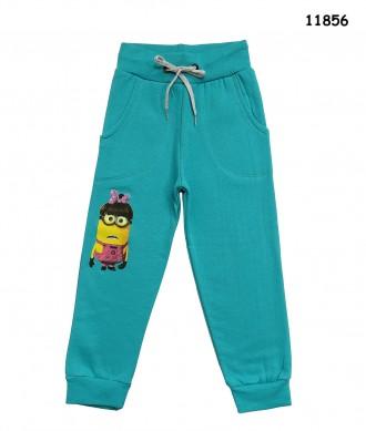 Теплые штаны Minions для девочки. Ніжин. фото 1