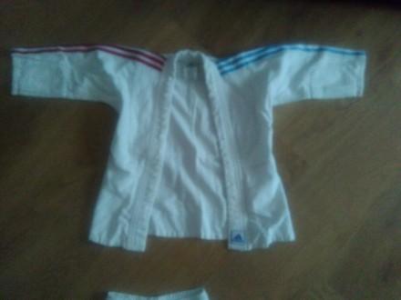 продам кимоно на рост 110см (адидас) б/у, в хорошем состоянии, без пояса. Есть н. Одесса, Одесская область. фото 3