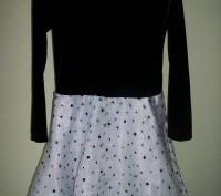 Продам нарядное платье для девочки  6-8лет американского производителя  Ashley A. Черкаси, Черкаська область. фото 3