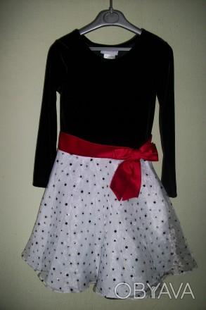 Продам нарядное платье для девочки  6-8лет американского производителя  Ashley A. Черкаси, Черкаська область. фото 1