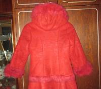 зимнее пальто на девочку 8-10 лет,в отличном состоянии,очень теплое,капюшон отст. Суми, Сумська область. фото 4