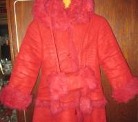 зимнее пальто на девочку 8-10 лет,в отличном состоянии,очень теплое,капюшон отст. Суми, Сумська область. фото 3