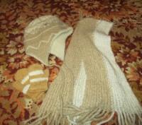 зимняя шапка,шарф и рукавички. Сумы. фото 1