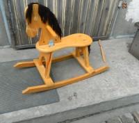 Продаётся детская конячка-качалка. В отличном состоянии, использовалась очень м. Каменское, Днепропетровская область. фото 4