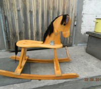 Продаётся детская конячка-качалка. В отличном состоянии, использовалась очень м. Каменское, Днепропетровская область. фото 2