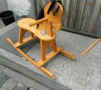 Продаётся детская конячка-качалка. В отличном состоянии, использовалась очень м. Каменское, Днепропетровская область. фото 3