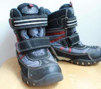 Теплые зимние термо ботинки для мальчика. Длина по стельке 19,6 см. Проиводство . Запоріжжя, Запорізька область. фото 2
