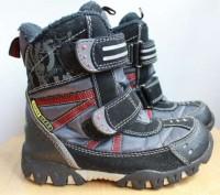 Теплые зимние термо ботинки для мальчика. Длина по стельке 19,6 см. Проиводство . Запоріжжя, Запорізька область. фото 3