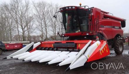Жатка кукурузная Oros адаптирована к комбайну Case 2388 год выпуска 2014 нара. Хмельницкий, Хмельницкая область. фото 1