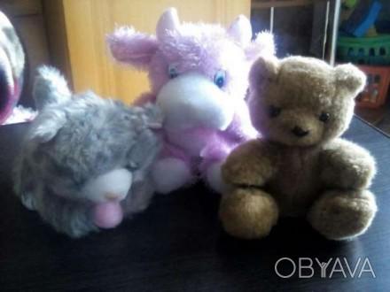 Продам мягкие игрушки в отличном состоянии, все за 80грн. Каменское, Днепропетровская область. фото 1