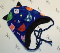 Теплые зимние детские шапки ручной работы в наличии и под заказ от 160грн. Возмо. Херсон, Херсонська область. фото 8