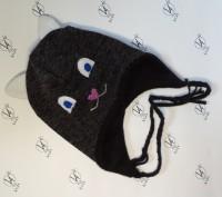 Теплые зимние детские шапки. Херсон. фото 1