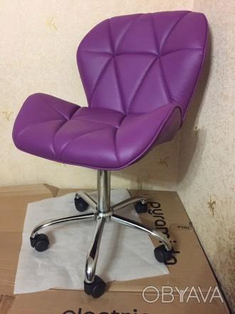 Роликовый стул HY 3008MR для офиса, компютерные стулья HY 3008 MR киев, мебель с. Киев, Киевская область. фото 1