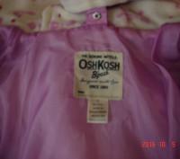 Курточка для девочки OshKosh на 4 года 3 в 1 оригинал из Америки. Можно носить . Черкаси, Черкаська область. фото 4