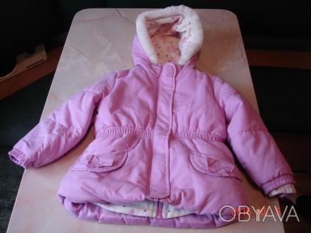 Курточка для девочки OshKosh на 4 года 3 в 1 оригинал из Америки. Можно носить . Черкаси, Черкаська область. фото 1