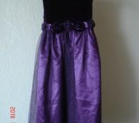 Продам очень нарядное платье для девочки 6-7 лет Goodlad. На фатине мелкие блес. Черкаси, Черкаська область. фото 2