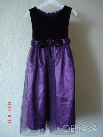 Продам очень нарядное платье для девочки 6-7 лет Goodlad. На фатине мелкие блес. Черкаси, Черкаська область. фото 1