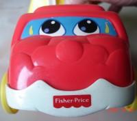Продам машинки моего сына 2 шт.Fisher Price.  Качественная пластмасса, подойдет. Черкаси, Черкаська область. фото 3