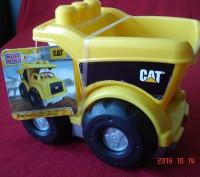 Продам  самосвал CAT, MEGA BLOKS (МЕГА БЛОКС). Эта машинка обязательно понравитс. Черкаси, Черкаська область. фото 5