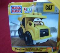 Продам  самосвал CAT, MEGA BLOKS (МЕГА БЛОКС). Эта машинка обязательно понравитс. Черкаси, Черкаська область. фото 7