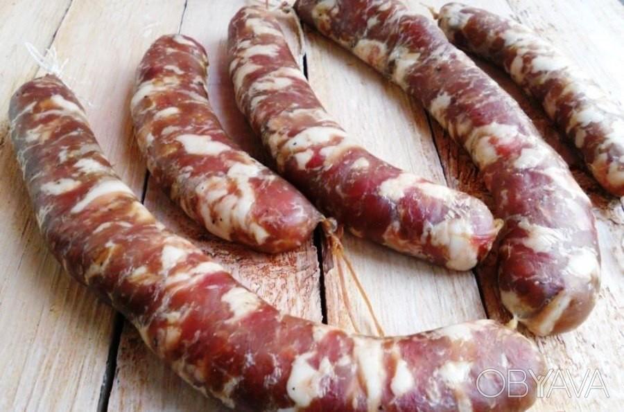 Натуральная колбаса в домашних условиях