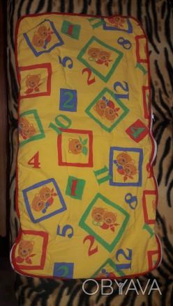 Легкий конверт подойдет как одеялко в кроватку так и в коляску.. Київ, Київська область. фото 1