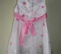 Продам нарядное платье для девочки 4 года, 115-120 см Youngland. Оригинал. Спер. Черкассы, Черкасская область. фото 3