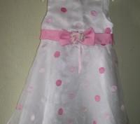 Продам нарядное платье для девочки 4 года, 115-120 см Youngland. Оригинал. Спер. Черкассы, Черкасская область. фото 2