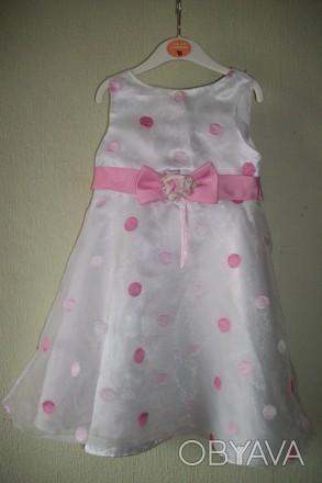 Продам нарядное платье для девочки 4 года, 115-120 см Youngland. Оригинал. Спер. Черкассы, Черкасская область. фото 1