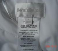 Продам  нарядное платье для девочки на 4 года от David´s Bridal.   Оригинал из . Черкассы, Черкасская область. фото 4