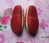 Продам детские мокасины красного цвета. Подойдут как на девочку так и на мальчик. Кам'янське, Дніпропетровська область. фото 3
