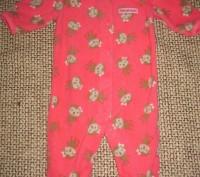 Флисовые человечики и флисовый костюмчик на возраст 0-3 месяца Бренд Carters.  С. Киев, Киевская область. фото 5