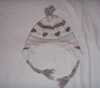шапочка для девочки 52 см по объему головочки.. б/у.  состояние хорошее. перешлю. Сумы, Сумская область. фото 9