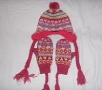 шапочка зимняя для девочки. Сумы. фото 1