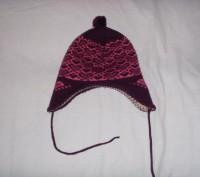 шапочка для девочки 52 см по объему головочки.. б/у.  состояние хорошее. перешлю. Сумы, Сумская область. фото 7