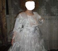 Красивое платье на праздник. В идеальном состоянии на рост 110 см. Замеры по про. Каменское, Днепропетровская область. фото 4