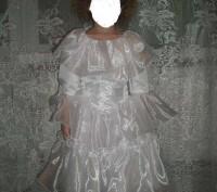 Красивое платье на праздник. В идеальном состоянии на рост 110 см. Замеры по про. Каменское, Днепропетровская область. фото 2